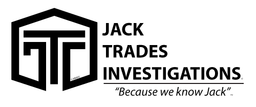 Jack Trades Investigations - Because we know Jack - Logo
